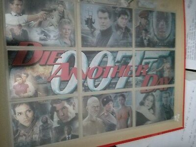 JAMES BOND Complete montage 9 cards DIE ANOTHER DAY