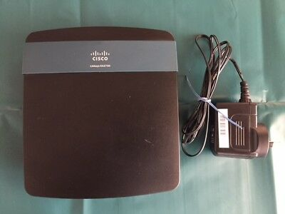 Cisco Linksys EA2700 Smart Wi-Fi Router N600 Wireless-N Network Manager 802.11n