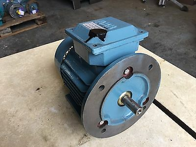 ABB Electric Motor 3 Phase 220 Volt To 480 Volt 0.75 KW / 1 HP