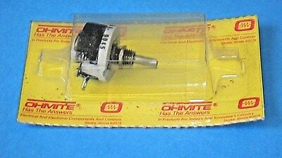 Ohmite RES350 Rheostat Potentiometer Wirewound 12 1/2W 350 Ohm 0.19A Model E NOS