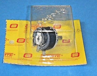 Ohmite RES8RO Rheostat Potentiometer Model E Wirewound 12 1/2W 8 Ohm 1.25 A NOS
