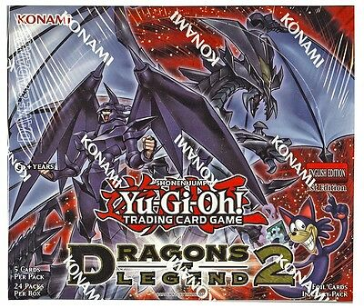 Dragons of Legend 2 DRL2 1st Edition Pack Fresh (add to cart for multiple cards)