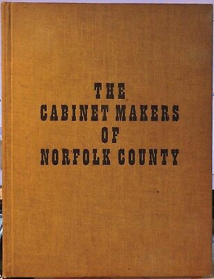 Limited Pressing Norfolk County Ontario Canada Antique Furniture Reference Book