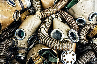 Vintage Russian gas mask steam punk masks extra small