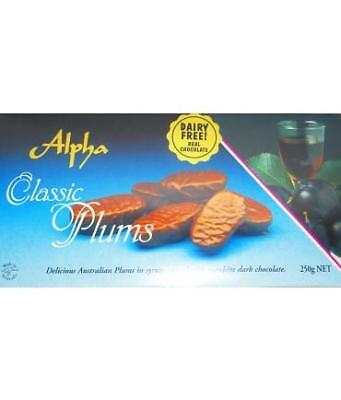 Alpha Chocolate Plums Gift Box 250Gr