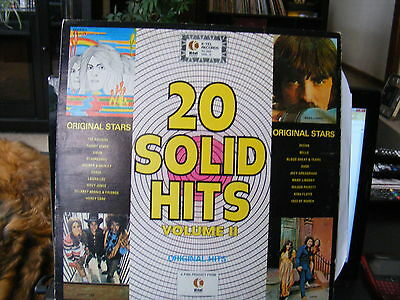 20 Solid Hits Voume 2 (1971)  Vinyl  LP Record 33 rpm