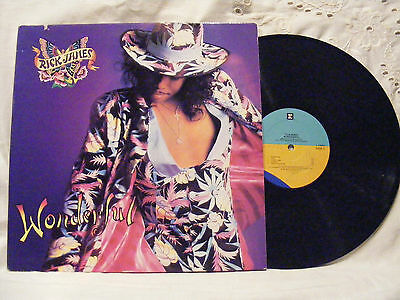 Rick James*Wonderful (1988) Vinyl LP Record 33 rpm