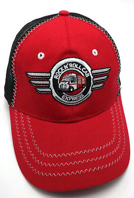 SNAP-ON TOOLS ROCK N' ROLL CAB EXPRESS red / black adjustable cap / hat
