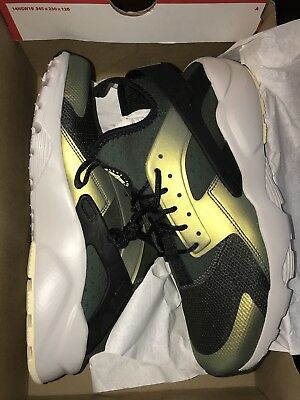 best website 11d82 b1a67 Nike Air Huarache Run Ultra SE Mens 875841-302 Sequoia Citron Shoes Size  11.5