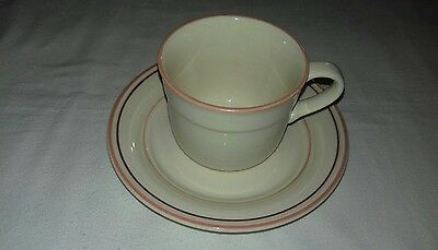 Arklow Pottery Ireland Honey Stone Cup & Saucer