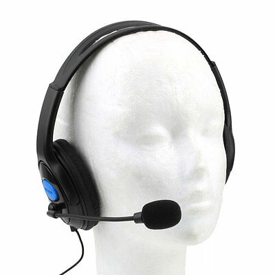 Wired Gaming Headset Headphones with Microphone for Sony PS4 PlayStation 4 NEW O