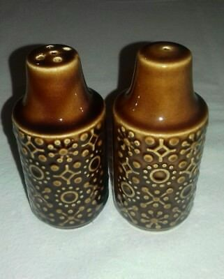 Vintage Irish Pottery Salt & Pepper Set