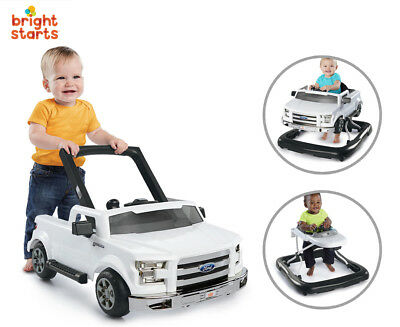 Bright Starts 3-In-1 Ford F-150 Baby Walker - Activity Toy
