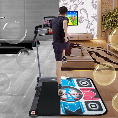 Non-Slip Dancing Step Dance Mat Pad Pads Dancer Blanket to PC with USB QG