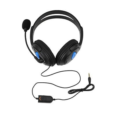 Wired Gaming Headset Headphones with Microphone for Sony PS4 PlayStation 4 LA