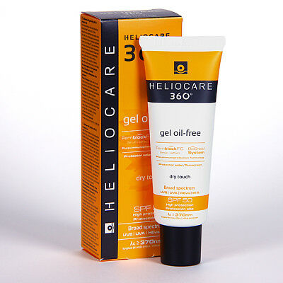 Heliocare 360º Gel Oil Free Spf 50  Dry Touch