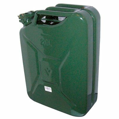 Carpoint 0110009 Tanica da 20 L in Metallo, TUV/GS, Verde 8711293016150 (hxd)