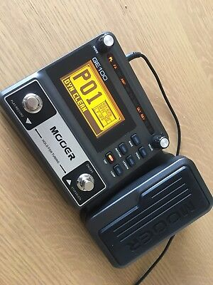 mooer ge100 multi effects pedal for electric guitar