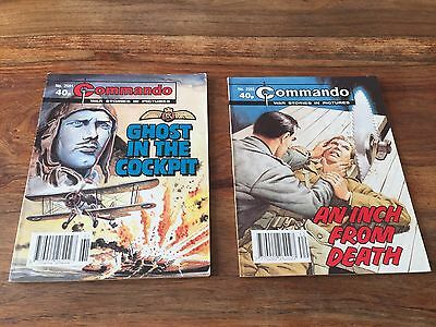 2 Commando comics book no. 2591 and 2592 war stories comic stories in pictures