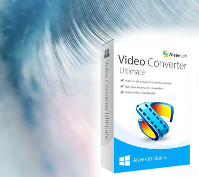 Video Converter Ultimate 9 Aiseesoft full version lifetime license (no CD)