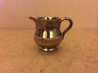 Small Vintage Copper Lustre Milk Jug