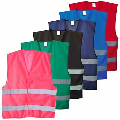 Portwest Iona Vest Safety Waistcoat Reflective Colours Lightweight Work F474