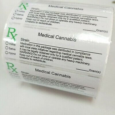 Rx medical labels