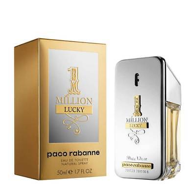 Paco Rabanne 1 Million Lucky 50Ml Eau De Toilette Spray Brand New & Sealed