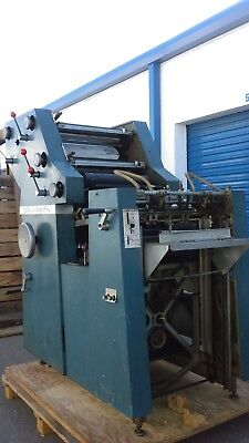 Atf-Davidson 702P Two Colours Offstet Printing Machine Colour Blue