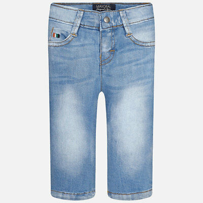 Mayoral Infant Boys Stonewashed look Jeans (503) Aged 12 and 36 Months