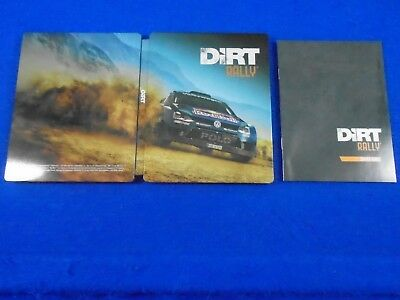 DIRT RALLY Steelbook Casing ONLY *NEW* NO GAME G2 Size PS4 XBOX ONE