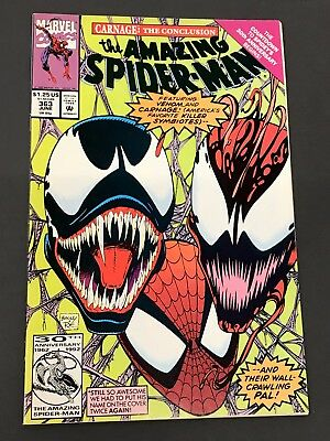 The Amazing Spider-Man #363 (Jun 1992, Marvel) CARNAGE KEY (3rd app) VF/NM