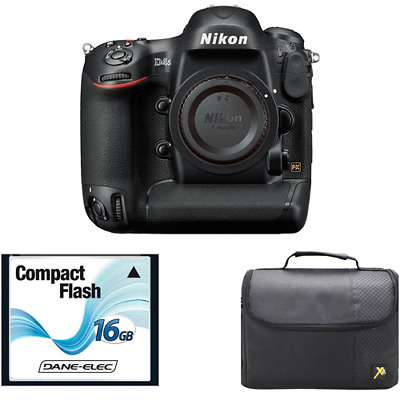 Nikon D4S Digital SLR Camera (Body Only) + 16GB Card & Case