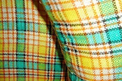 VTG FRENCH COUNTRY PATCHWORK QUILT CALICO THROW IRISH LINEN PLAID PILLOW LOT 4pc