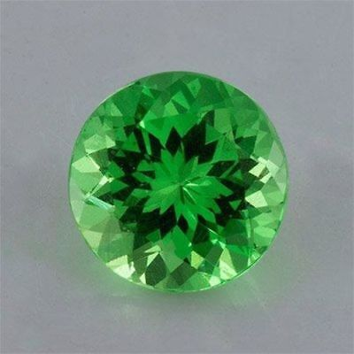 Wholesale, Natural Tsavorite Green Garnet, 1-4mm Round Cut, VS Loose Stone