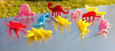 11-Vintage Sinclair Gas Oil Dinosaur Toy Pack Promotional Giveaway.loose MINTY