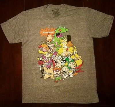 Nickelodeon, Mens T-Shirt, Large Size, New Without tags, Never Worn.