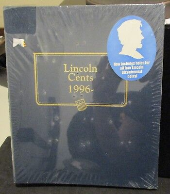 New Whitman Classic Lincoln Cents 1996 Album          ENN COINS