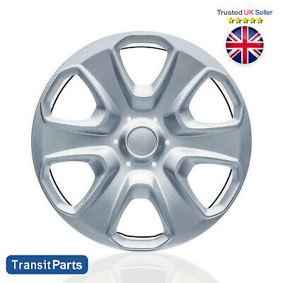 """Brand New 15"""" inch Wheel Trim Hub Cap Cover fits 4 Ford Transit Courier 2014 on"""