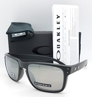 NEW Oakley Holbrook sunglasses Matte Black Prizm Blk Polarized 9102-D655 9102-D6