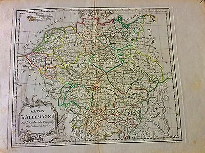 1778 Antique Map German Empire  In Fine Detail Hard To Find Like This