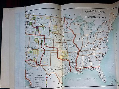 The Louisiana Purchase and its Annexation to the US, 1900, Three very good maps