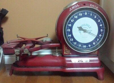 Antique Scale Red Angldile