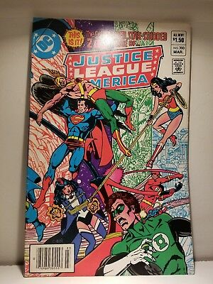 JUSTICE LEAGUE of AMERICA 200 Comic / GIANT-SIZE Ann. ISSUE / High Grade