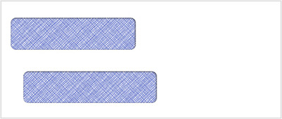 500  Double Window Envelope | Item #CE27