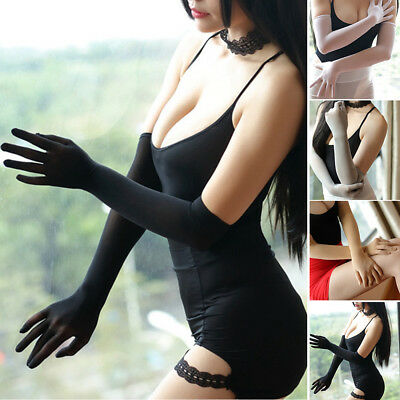 Sheer Seamless long Gloves affordable luxury Smooth pantyhose tights stocking US