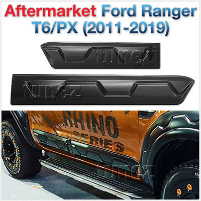Door Guard Cladding Side Panel Protector For Ford Ranger T6 MK2 2016 2017 2018 E