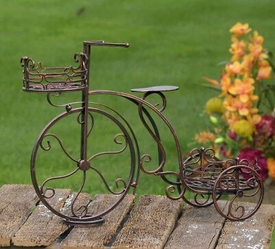 Tricycle Flower Plant Stand