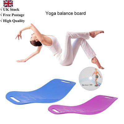 Balance Board Home Office Foot Leg Yoga Board For Twisting Waist Torsion A@