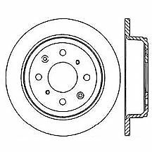 centric brake disc rear driver or passenger side new fwd 4 wheel Rear Wheel Drive Sedans centric brake disc fwd 4 wheel abs rear rh or lh driver passenger side coupe